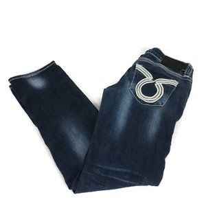 Big Star Liv Stretch Distressed Straight Leg Jeans